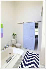 design my bathroom bathroom gets a makeover using rolling door hardware