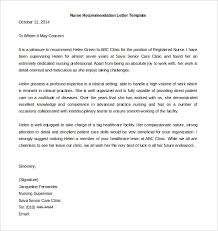 recommendation letter template recommendation letter template