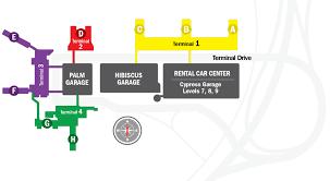 miami airport terminal map fort lauderdale international airport terminal map