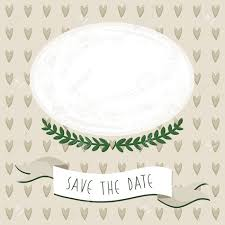 wedding save the date cards wedding save the date card with delicate grunge oval blank