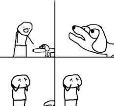 Blank Meme Templates - retarded dog blank template imgflip