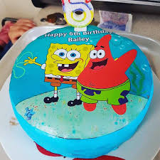 spongebob cake toppers 14 best edible cake cupcake toppers images on