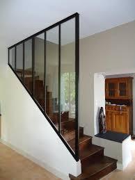 escalier entre cuisine et salon fabricant cr ation d une verri re de cuisine ainsi qu un chassi