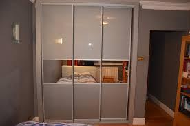 Mirrors For Closet Doors by Grey Glass U0026 Mirror Strips Sliding Doors Closet Richmond Tw10