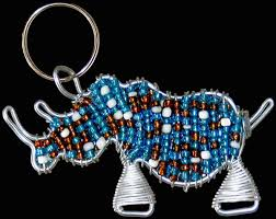 wire key rings images Beaded sa flag key rings wholesale supplier earth africa curio jpg