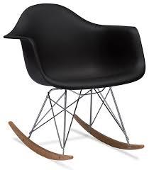 Mid Century Modern Plastic Chairs Baxton Studio Dario Plastic Mid Century Modern Shell Chair