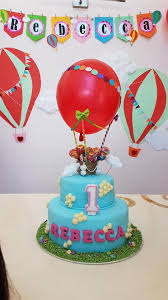 nicebake customised 2 tier air balloon cake for facebook