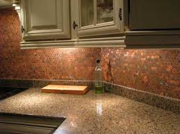 Best  Penny Backsplash Ideas On Pinterest Penny Wall - Copper backsplash