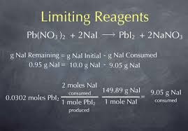 limiting reactant worksheet worksheets