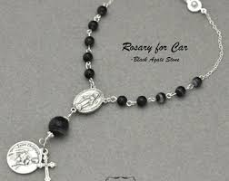 auto rosary auto rosary etsy