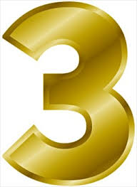 3 by Free Gold Number 3 Clipart Free Clipart Graphics Images And