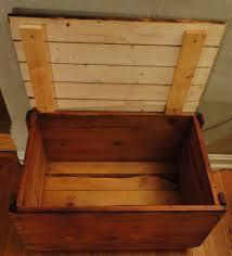 storage crate coffee table u0026 toybox 110 driftwood barnwood