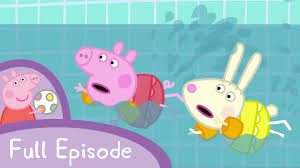 peppa pig episodes swimming episode cartoons
