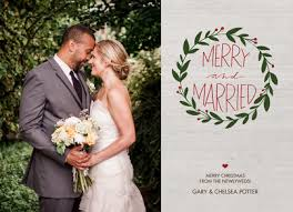 married christmas cards merry and married christmas card cardstore