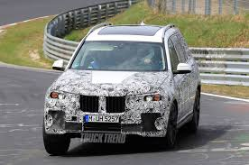 bmw jeep 2017 spied on the nürburgring 2018 bmw x5 and 2019 bmw x7
