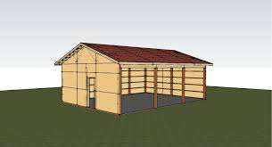 Barn Plans by Pole Barn Plans And Materials Redneck Diy