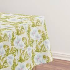 floral wedding tablecloths zazzle