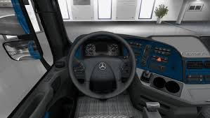 mercedes actros mp3 paint interior 1 22 x mod euro truck