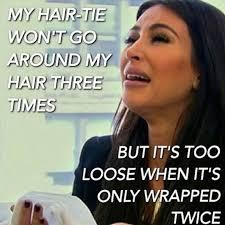 Hair Meme - breaking kim kardashian s new hair meme