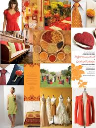 orange spice color paper doll romance color day spices of india