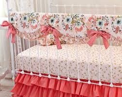 gold crib bedding etsy