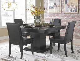 Square Kitchen Tables by Black Kitchen Table Set U2013 Home Design And Decorating