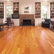 wide plank pine solid wood flooring site finished or