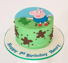 peppa pig cake best 25 george pig cake ideas on peppa pig birthday