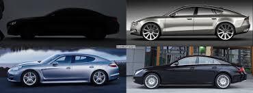 Porsche Panamera Coupe - photo comparison bmw gran coupe vs audi sportback vs mercedes