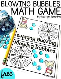 thanksgiving bubble letters blowing bubbles math game recipe for teaching