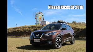 nissan kicks 2018 nissan kicks 2018 sl 1 6 cvt falando de carro youtube