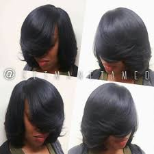 full sew in no leave out long bob razor cut bob weaves weave