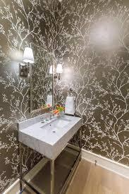 Powder Room Photos - powder room wallpaper design ideas