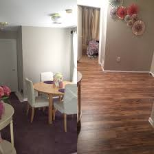 Traffic Master Laminate Flooring Before And After Floors In Dining Room Before Purple Carpet And
