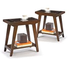 Chair Side Table The Furniture Cove Chair Side Tables In An Espresso Cappuccino