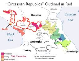 map quiz russia and the republics dreams of a circassian homeland and the sochi olympics of 2014