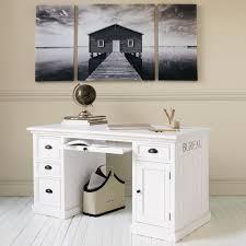 scrivania ad 1 anta e 4 cassetti bureaus newport and paint