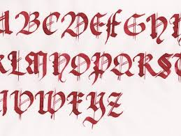 imagenes letras goticas nombres mi nombre en letras goticas para facebook veintipico veintipico