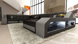 u sofa xxl amazon com design sectional sofa matera with led lights kitchen