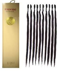 glued in hair extensions ladylike fusion remy pre glued silky hair extension 18 inch 10 pc pack