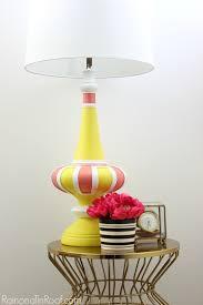Midcentury Modern Lamps - mid century modern lamp makeover