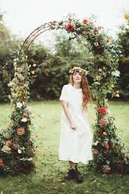 wedding arch kent vintage wedding styling rustic luxe modern vintage wedding