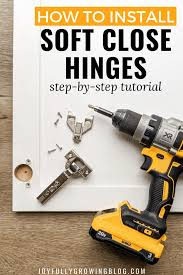 how to stop cabinet doors from slamming how to install soft hinges on any kitchen cabinet door