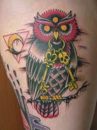 25 gorgeous traditional owl tattoos ideas on pinterest colorful