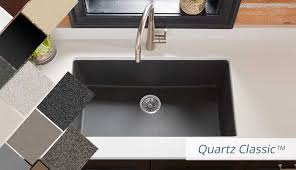 Sinks Kitchens Elkay Quartz Kitchen Sinks Bold Granite Colors Sleek Luxe And