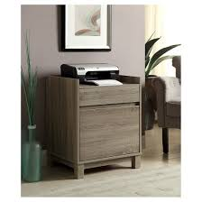 Wooden Filing Cabinets Target Lateral 2 Drawers Filing Cabinet Wood Gray Linon Home Decor Target