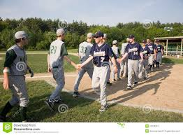 baseball teams shaking hands editorial photo image 26128361