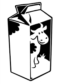 Milk Coloring Pages milk with cow picture coloring page netart