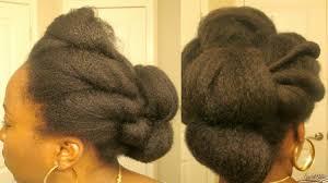 tuck in hairstyles 8 easy natural tuck n roll hairstyles