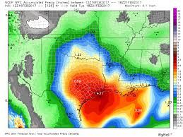 Houston Weather Map After Cold Spell Houston To Warm Up Face Potential For Heavy Rain